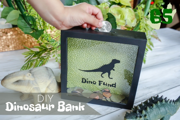 DIY Dinosaur Bank